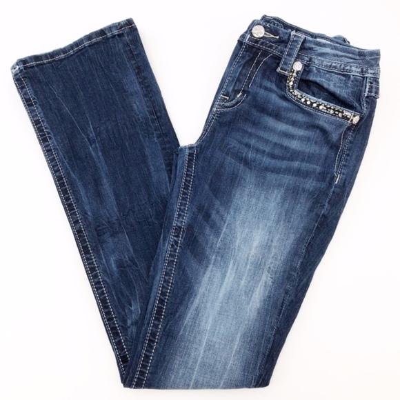 e683d9687af Miss Me Jeans | Midrise Bootcut Sz 28 | Poshmark